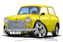 Load image into Gallery viewer, Mini (Mk3) - Caricature Car Art Print