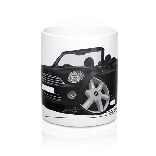 MINI (Mk2)(R57) Cooper Convertible - Caricature Car Art Coffee Mug