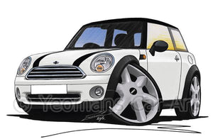 MINI (Mk2)(R56) Cooper - Caricature Car Art Coffee Mug