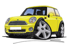 Load image into Gallery viewer, MINI (Mk2)(R56) Cooper - Caricature Car Art Coffee Mug