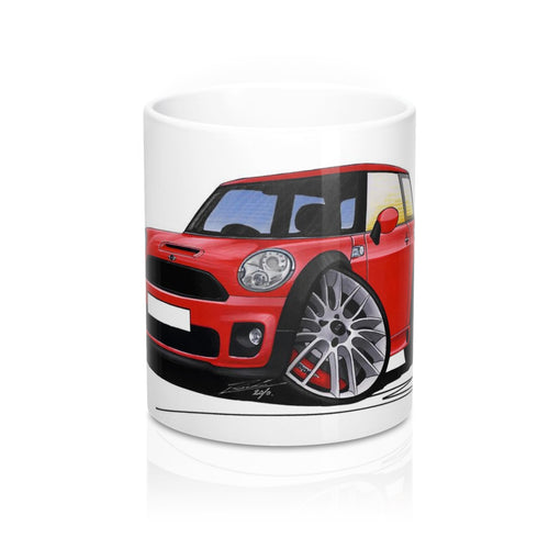 MINI (Mk2)(R56) John Cooper Works - Caricature Car Art Coffee Mug