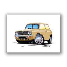 Load image into Gallery viewer, Mini Clubman - Caricature Car Art Print