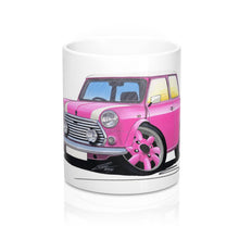 Load image into Gallery viewer, Mini Cooper (Yeo-B)- Caricature Car Art Coffee Mug