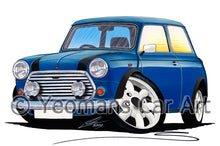 Load image into Gallery viewer, Mini Cooper (Italian Job Edition) - Caricature Car Art Print