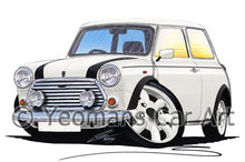 Load image into Gallery viewer, Mini Cooper (Italian Job Edition) - Caricature Car Art Coffee Mug