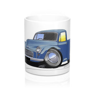 Morris Minor Pick-Up - Caricature Car Art Coffee Mug