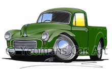 Load image into Gallery viewer, Morris Minor Pick-Up - Caricature Car Art Coffee Mug