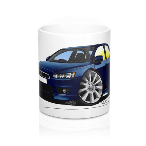Mitsubishi Lancer GS3 - Caricature Car Art Coffee Mug
