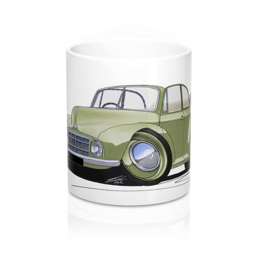 Morris Minor MM Convertible - Caricature Car Art Coffee Mug