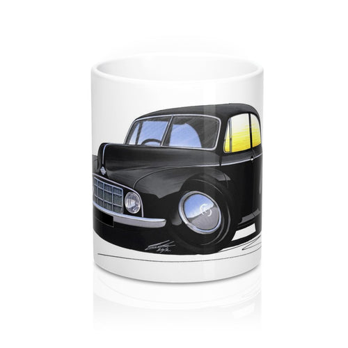 Morris Minor MM - Caricature Car Art Coffee Mug