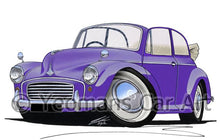 Load image into Gallery viewer, Morris Minor Convertible - Caricature Car Art Coffee Mug