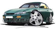 Load image into Gallery viewer, Nissan 200SX S14 - Caricature Car Art Coffee Mug