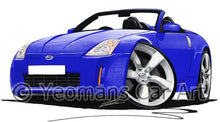 Load image into Gallery viewer, Nissan 350z Roadster - Caricature Car Art Coffee Mug