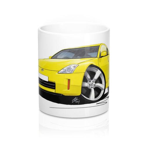 Nissan 350z (Facelift) - Caricature Car Art Coffee Mug