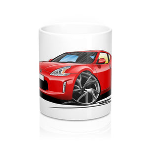 Nissan 370z - Caricature Car Art Coffee Mug