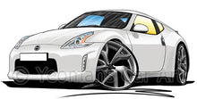 Load image into Gallery viewer, Nissan 370z - Caricature Car Art Coffee Mug