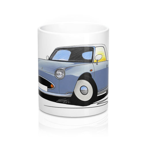 Nissan Figaro - Caricature Car Art Coffee Mug