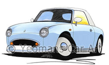 Load image into Gallery viewer, Nissan Figaro - Caricature Car Art Coffee Mug