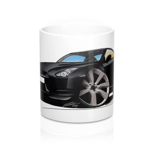 Nissan GT-R - Caricature Car Art Coffee Mug