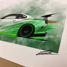Load image into Gallery viewer, Nissan Silvia S15 Street Racer (Yeomans Edition) - Roadside Icons Art Print