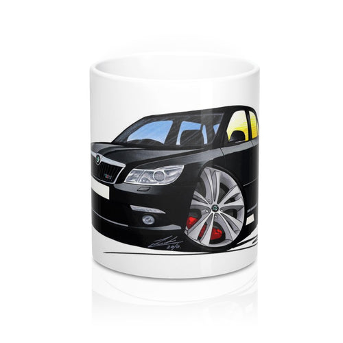Skoda Octavia 2 (Facelift) vRS - Caricature Car Art Coffee Mug