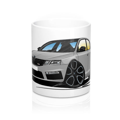 Skoda Octavia 3 (Facelift) vRS 245 - Caricature Car Art Coffee Mug
