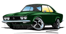 Load image into Gallery viewer, Opel Manta A - Caricature Car Art Coffee Mug