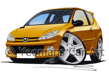 Load image into Gallery viewer, Peugeot 206 GTi - Caricature Car Art Coffee Mug
