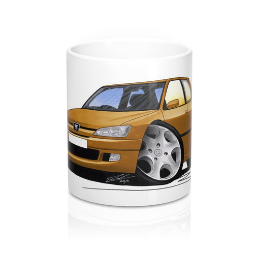 Peugeot 306 - Caricature Car Art Coffee Mug