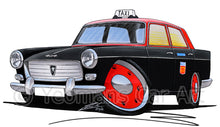 Load image into Gallery viewer, Peugeot 404 Taxi - Caricature Car Art Print