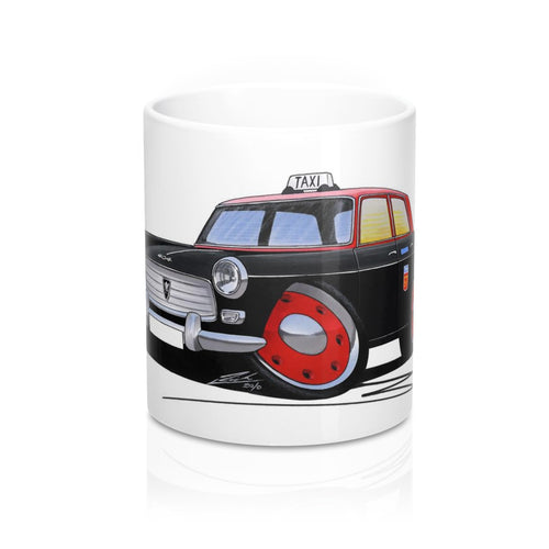 Peugeot 404 Taxi - Caricature Car Art Coffee Mug