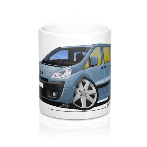 Peugeot Expert - Caricature Car Art Coffee Mug