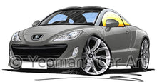 Load image into Gallery viewer, Peugeot RCZ - Caricature Car Art Coffee Mug
