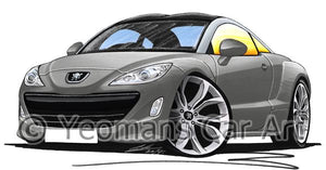 Peugeot RCZ - Caricature Car Art Coffee Mug