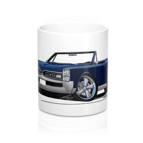 Pontiac GTO (1967) Convertible - Caricature Car Art Coffee Mug