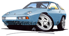 Load image into Gallery viewer, Porsche 928 - Caricature Car Art Print