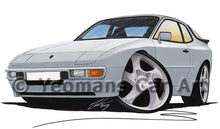Load image into Gallery viewer, Porsche 944 - Caricature Car Art Coffee Mug
