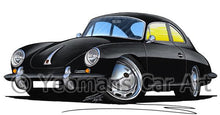 Load image into Gallery viewer, Porsche 356 - Caricature Car Art Coffee Mug