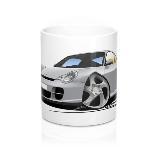 Porsche 911 (996) GT2 - Caricature Car Art Coffee Mug