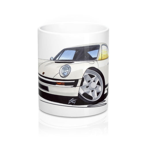 Porsche 911 - Caricature Car Art Coffee Mug