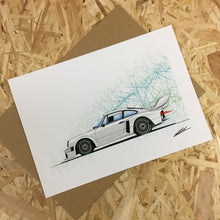 Load image into Gallery viewer, Porsche 934-5 (Yeomans Edition) - Roadside Icons Art Print