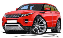 Load image into Gallery viewer, Range Rover Evoque - Caricature Car Art Coffee Mug