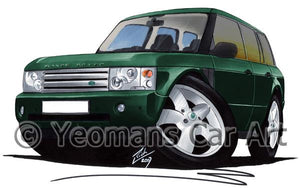 Range Rover (L322)(Mk3) - Caricature Car Art Coffee Mug
