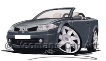 Load image into Gallery viewer, Renault Megane Coupe-Cabriolet - Caricature Car Art Coffee Mug