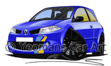 Load image into Gallery viewer, RenaultSport Megane 225 F1 Team - Caricature Car Art Coffee Mug