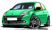 Load image into Gallery viewer, RenaultSport Clio III 200 - Caricature Car Art Coffee Mug