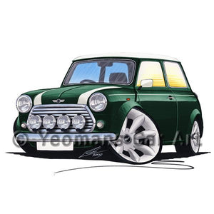 Rover Mini Cooper Sport - Caricature Car Art Coffee Mug