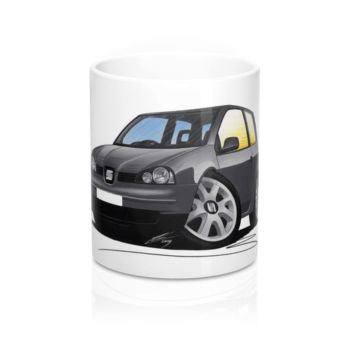 Seat Arosa (Mk2) - Caricature Car Art Coffee Mug