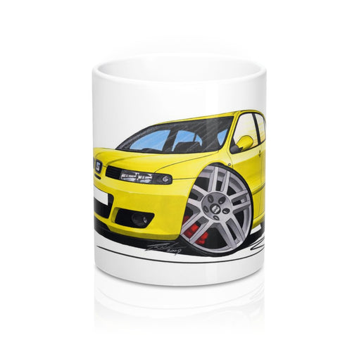 Seat Leon (Mk1) Cupra R - Caricature Car Art Coffee Mug