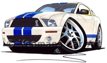 Load image into Gallery viewer, Ford / Shelby Mustang (2006) GT500 - Caricature Car Art Coffee Mug